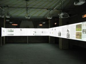 Holocaust-Ausstellung Lichtflecken